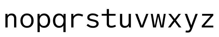 Lab Grotesque Mono Regular Font LOWERCASE