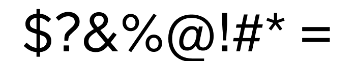 Lab Grotesque Regular Font OTHER CHARS