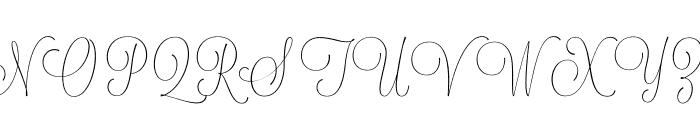 Lavanderia-Delicate Font UPPERCASE