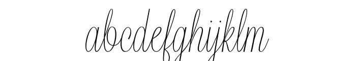 Lavanderia-Delicate Font LOWERCASE