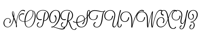 Lavanderia-Regular Font UPPERCASE