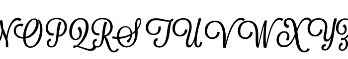 Lavanderia-Sturdy Font UPPERCASE