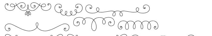 La Chic Frames Outline Font OTHER CHARS