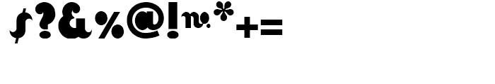 La Moda NF Regular Font OTHER CHARS