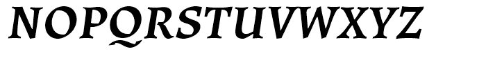 Ladoga Bold Italic Font UPPERCASE