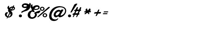 Lakesight Regular Font OTHER CHARS