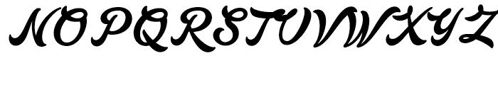 Lakesight Regular Font UPPERCASE