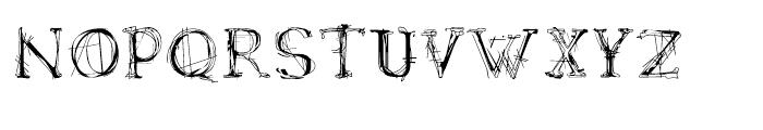 LamentaX Regular Font UPPERCASE