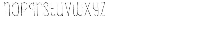 Lampion Regular Font LOWERCASE