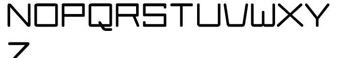 Larabiefont Extended Bold Font UPPERCASE