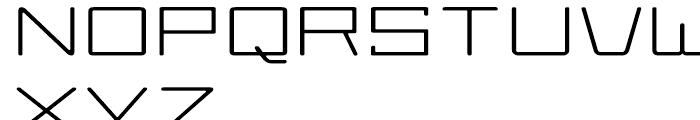 Larabiefont Extrawide Font UPPERCASE