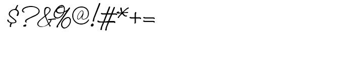 Laramie Regular Font OTHER CHARS