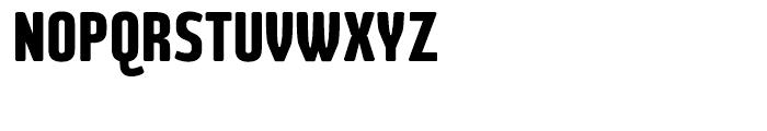 Large Regular Font UPPERCASE