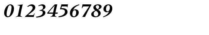 Latin 725 Bold Italic Font OTHER CHARS