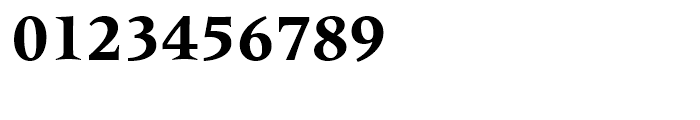 Latin 725 Bold Font OTHER CHARS