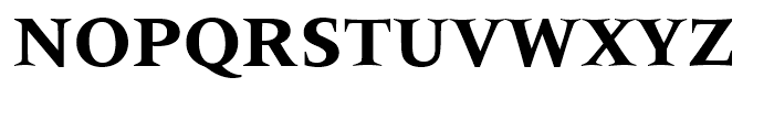 Latin 725 Bold Font UPPERCASE