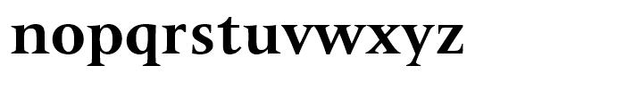 Latin 725 Bold Font LOWERCASE