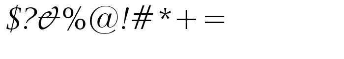 Latin 725 Italic Font OTHER CHARS