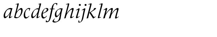 Latin 725 Italic Font LOWERCASE