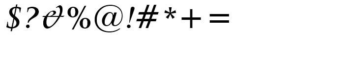 Latin 725 Medium Italic Font OTHER CHARS