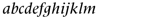 Latin 725 Medium Italic Font LOWERCASE