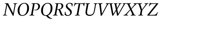 Laurentian Italic Font UPPERCASE