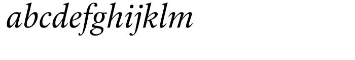 Laurentian Italic Font LOWERCASE