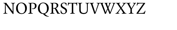 Laurentian Regular Font UPPERCASE