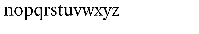 Laurentian Regular Font LOWERCASE