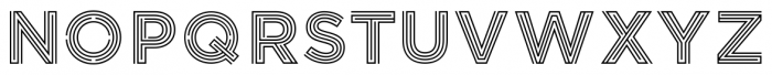 LABYRINTHUS REGULAR Font LOWERCASE
