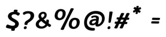 La Veronique Notes Bold Italic Font OTHER CHARS