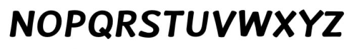 La Veronique Notes Bold Italic Font UPPERCASE