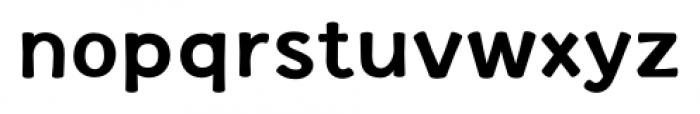 La Veronique Notes Bold Font LOWERCASE
