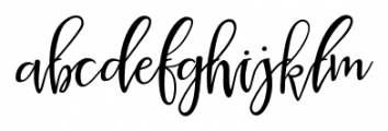 La Veronique One Font LOWERCASE