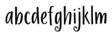 La Veronique Sans Bold Font LOWERCASE