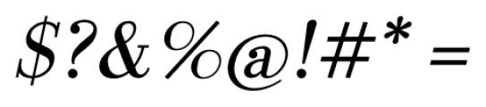 LaBodoni PlainItalic Font OTHER CHARS