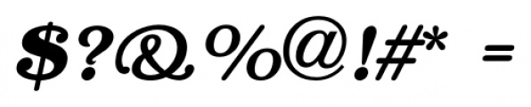 Lamp Post JNL Oblique Font OTHER CHARS