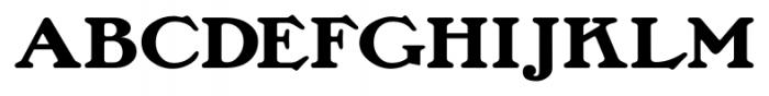 Lamp Post JNL Regular Font UPPERCASE