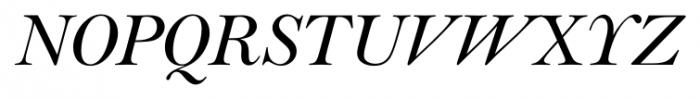 Lanston Bell Italic Font UPPERCASE