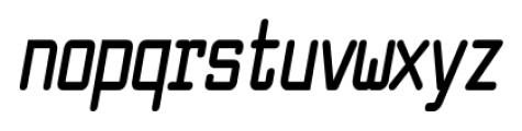 Larabiefont Compressed Bold Italic Font LOWERCASE