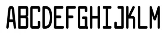 Larabiefont Compressed Bold Font UPPERCASE