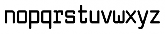 Larabiefont Condensed Bold Font LOWERCASE