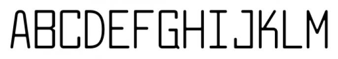 Larabiefont Condensed Font UPPERCASE