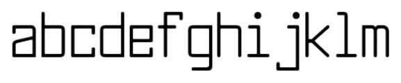 Larabiefont Condensed Font LOWERCASE