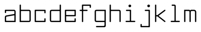 Larabiefont Regular Font LOWERCASE
