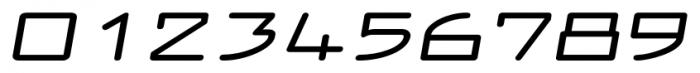 Larabiefont Xtrawide Bold Italic Font OTHER CHARS