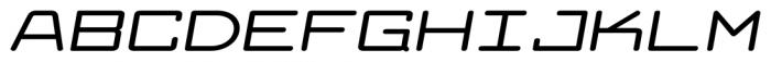 Larabiefont Xtrawide Bold Italic Font UPPERCASE