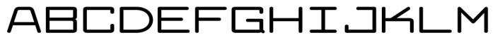 Larabiefont Xtrawide Bold Font UPPERCASE