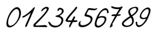 Larissa Handwriting Regular Font OTHER CHARS