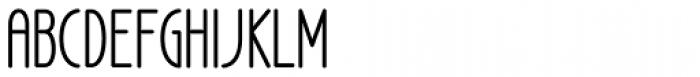 LA Headlights BTN Cond Font UPPERCASE